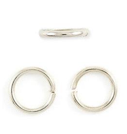Jump Ring 10mm Platinum approx 18g x50