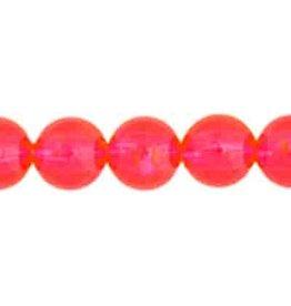 Round  8mm Transparent Ceries Pink x50
