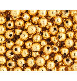 Round  6mm Gold  x100
