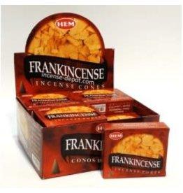 Hem *Frankincense Incense Cones  x10