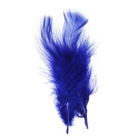 Marabou Feathers Royal Blue 6g