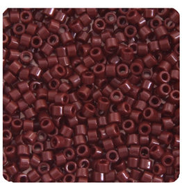 Miyuki db1134 11 Delica 3.5g  Opaque Brown Currant