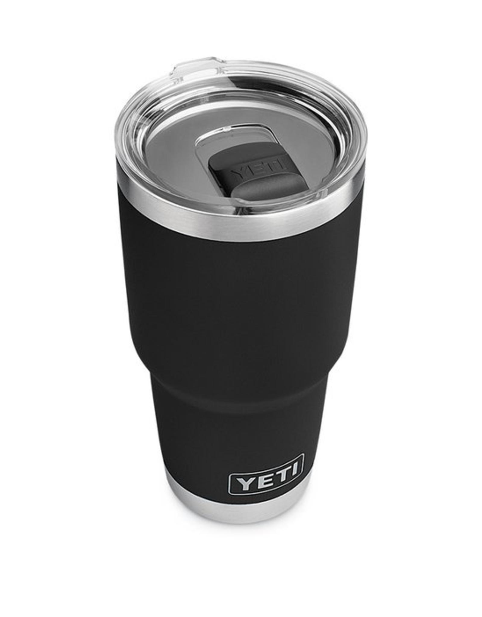 YETI Coolers Rambler 30oz Black w/ Magslider Lid