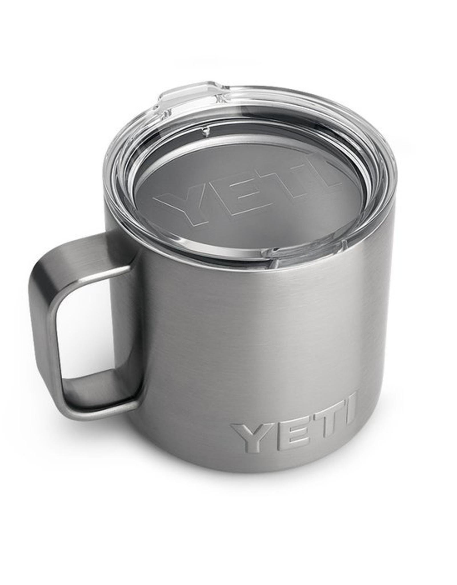 YETI Coolers Rambler 14oz Mug - Stainless Steel