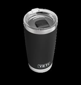 YETI Coolers Rambler 20oz Black w/ Magslider Lid