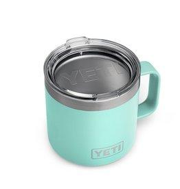 YETI Coolers Rambler 14oz Seafoam Mug