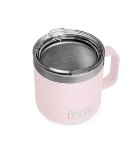 YETI Coolers Rambler 14 Oz Mug-Ice Pink