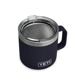 YETI Coolers Rambler 14 Oz Mug-Navy