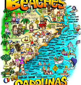 "Heritage Puzzles ""Beaches of the Carolinas"" 550 Piece Puzzle"