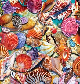Heritage Puzzles Coastal Shells 1000 Piece Puzzle