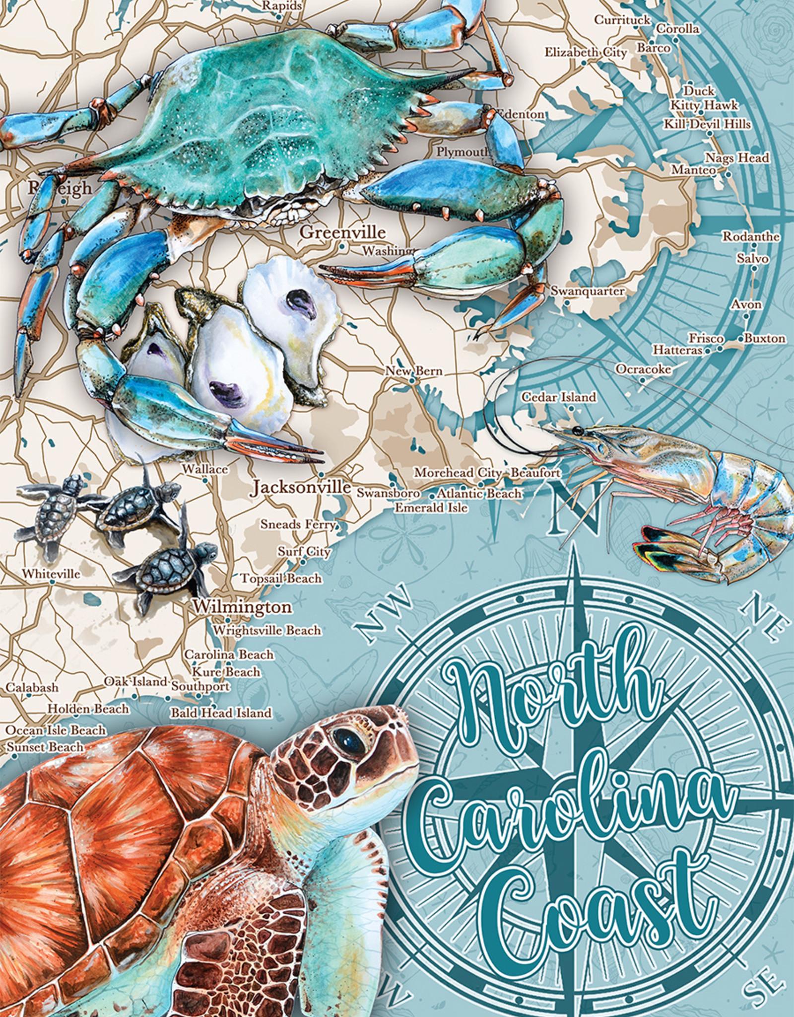 Heritage Puzzles Heritage N.C Coast Puzzle