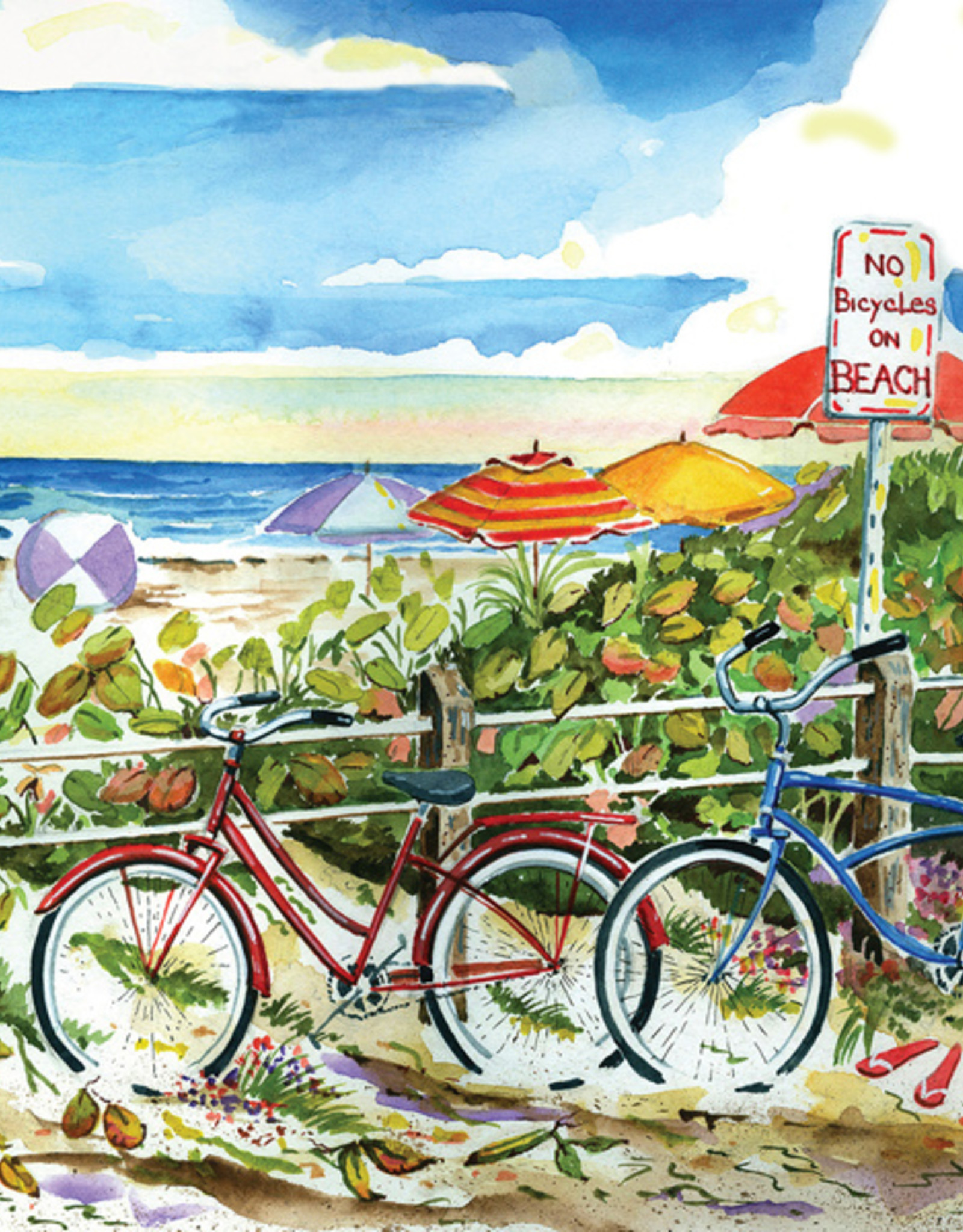 Heritage Puzzles No Bikes on the Beach Puzzle
