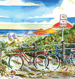 Heritage Puzzles No Bikes on the Beach 500 Piece  Puzzle