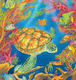 Heritage Puzzles Turtle Reef 500 Piece Puzzle