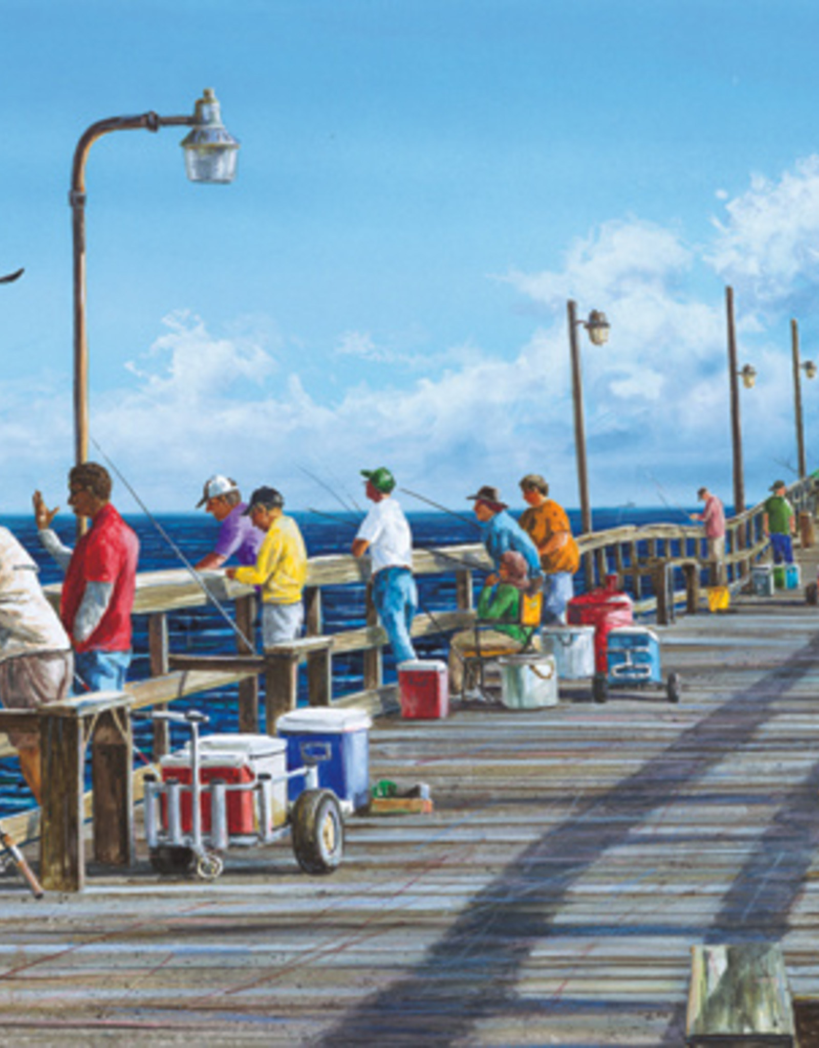 "Heritage Puzzles ""Fishing Pier"" Puzzle"