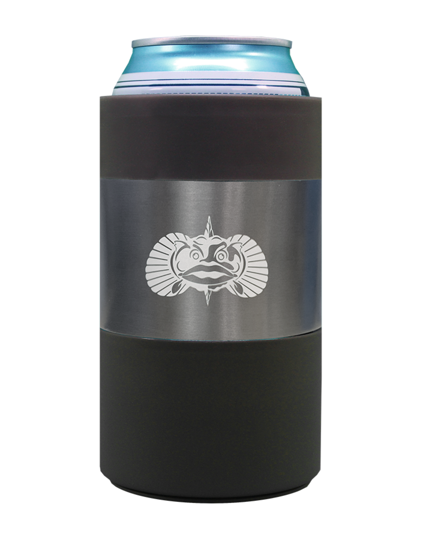 Toadfish Non-Slipping Can Cooler-Graphite