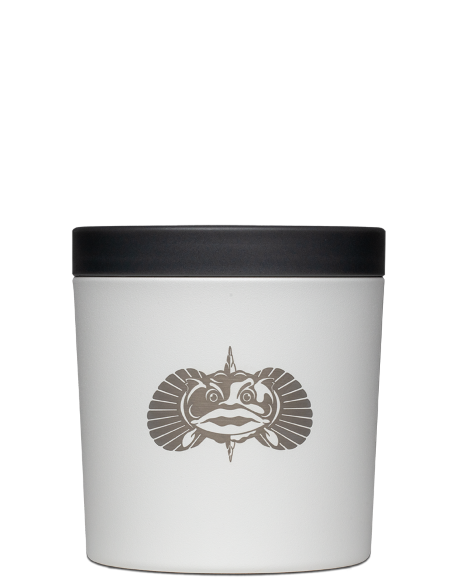 "Toadfish ""Anchor"" Can Cooler-White"