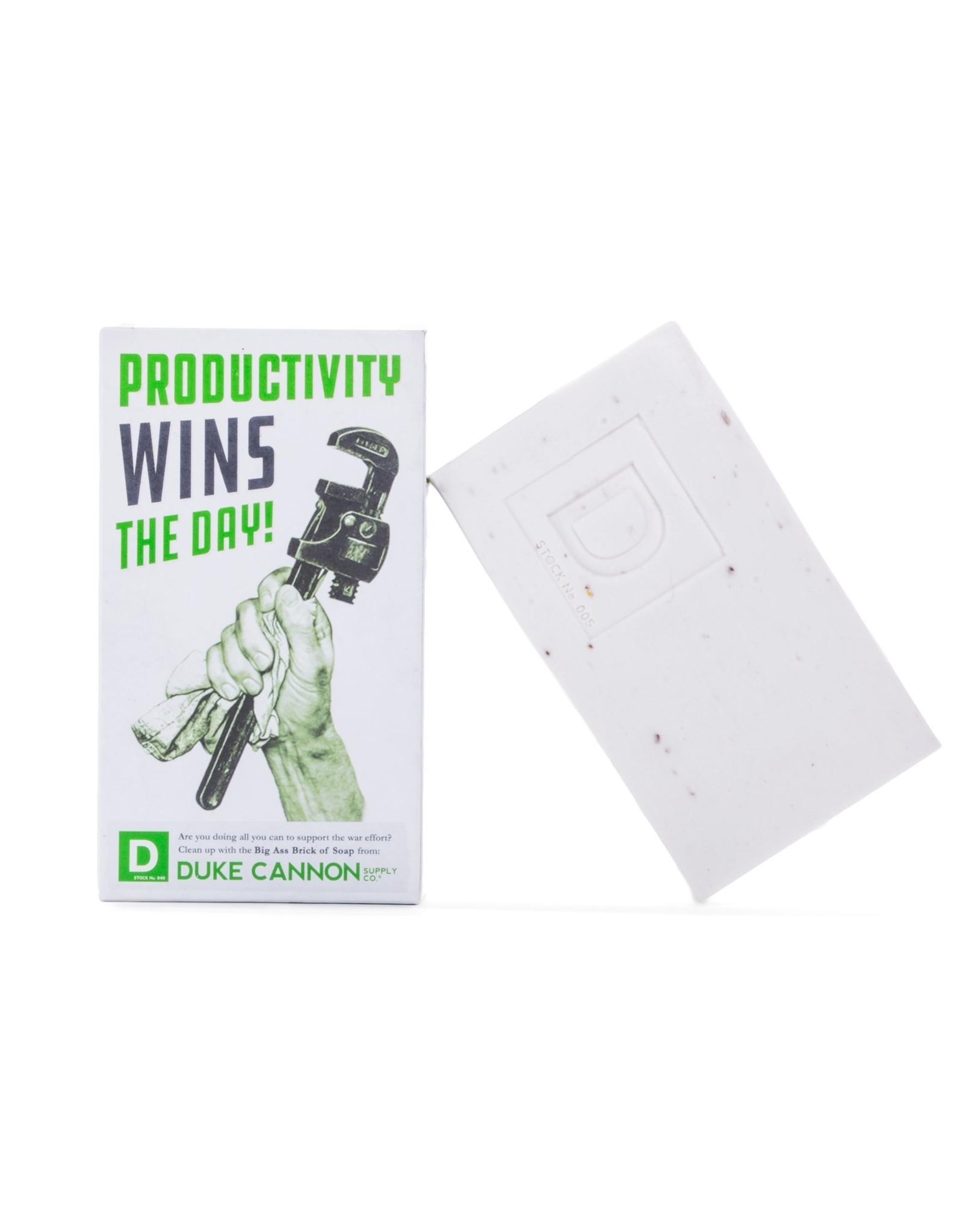 Duke Cannon Smells Like Productivity Soap