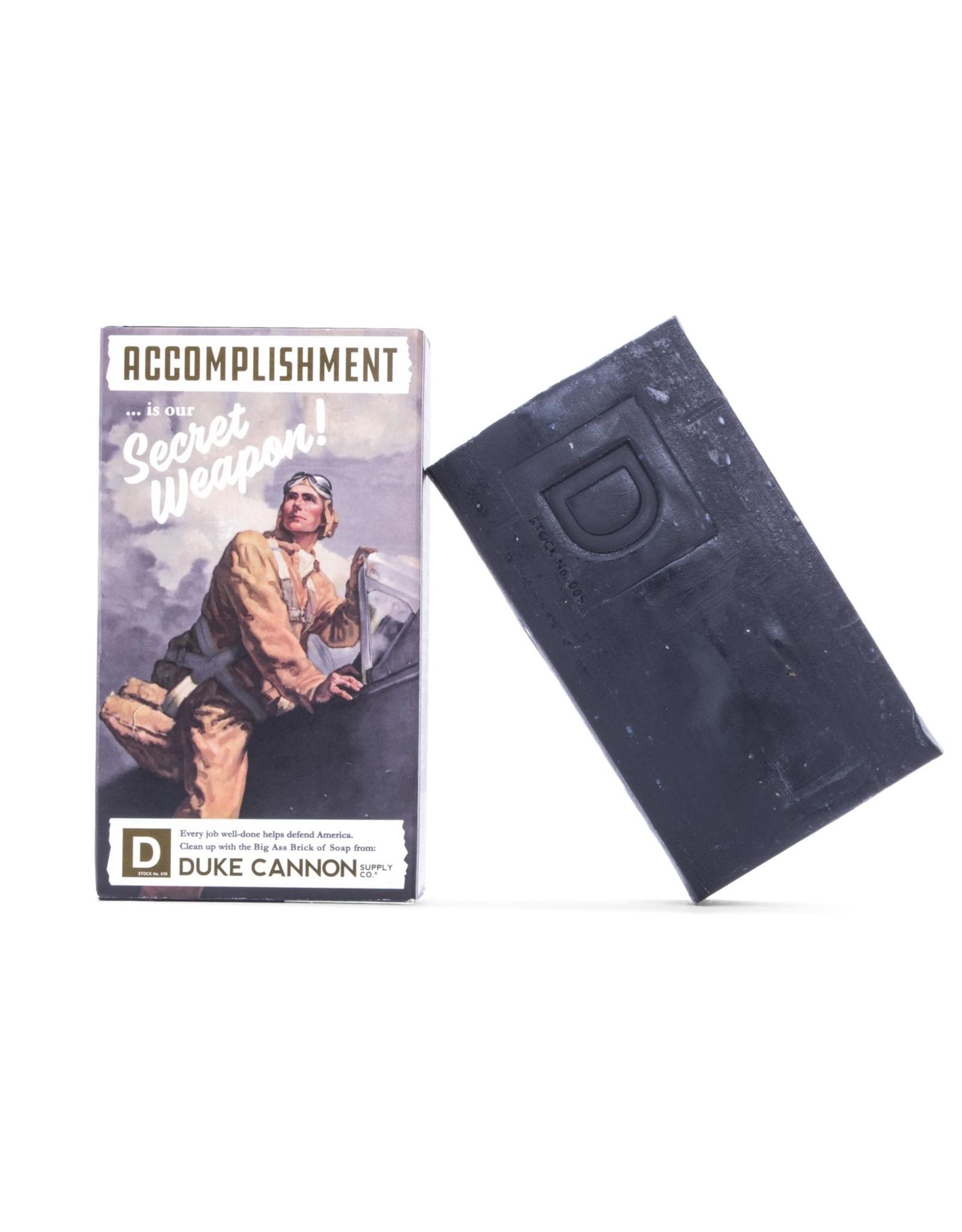 Duke Cannon Smells Like Accomplishment Soap