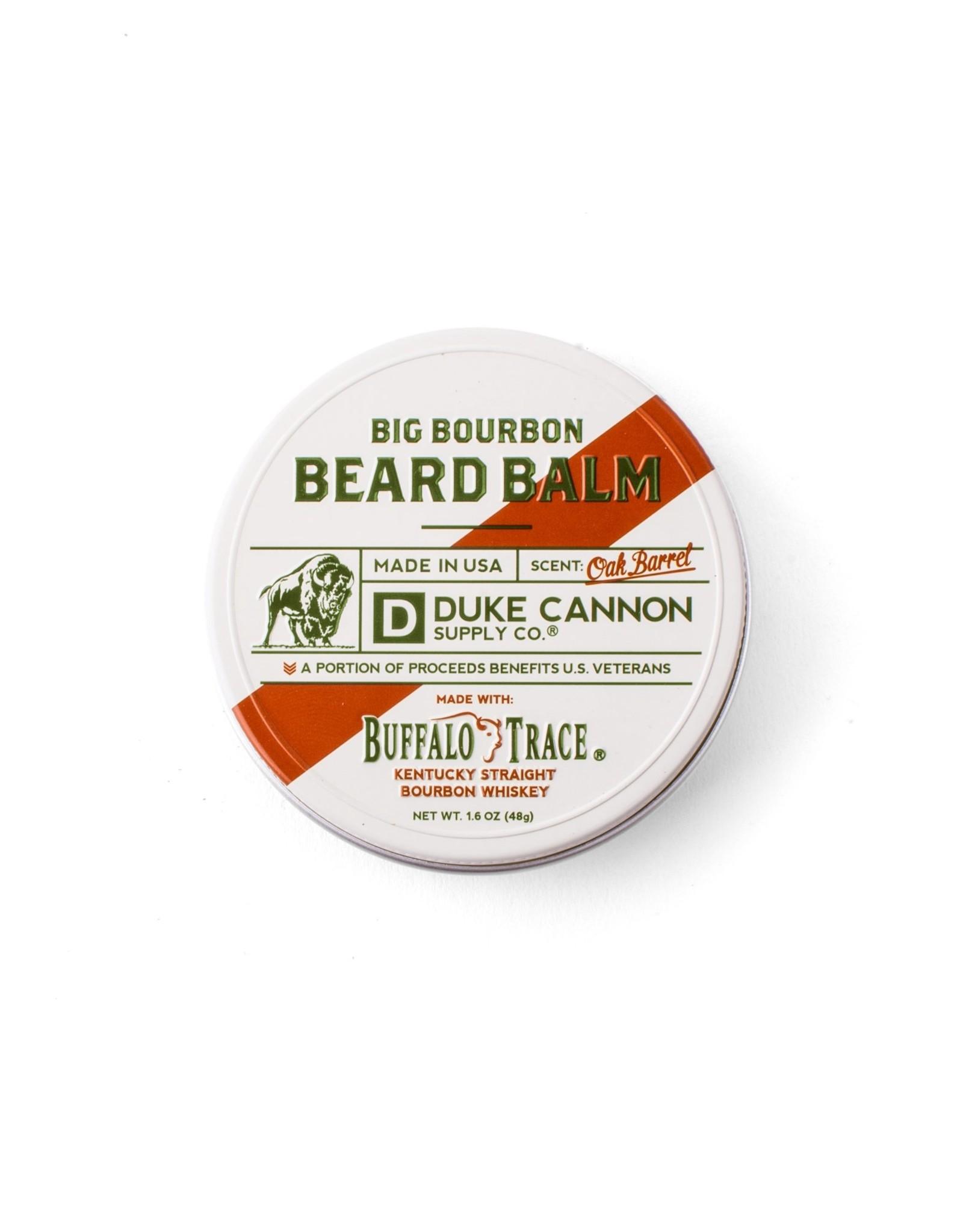 Duke Cannon Buffalo Trace Bourbon Beard Balm