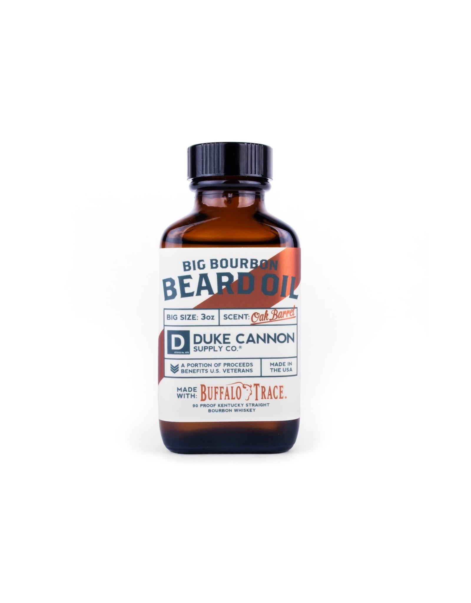 Duke Cannon Buffalo Trace Bourbon Beard Oil