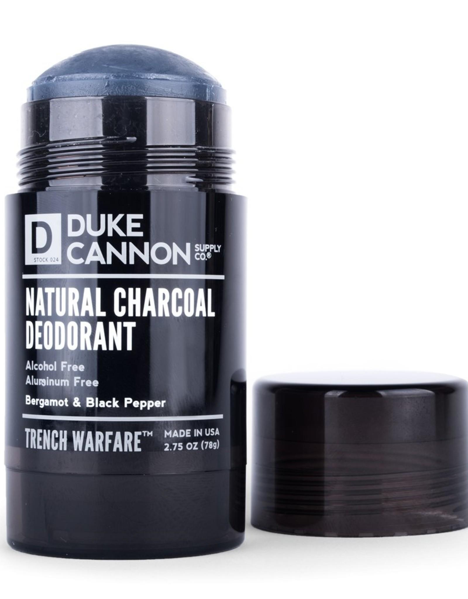 Duke Cannon  Bergamont & Black Pepper Charcoal Deodorant
