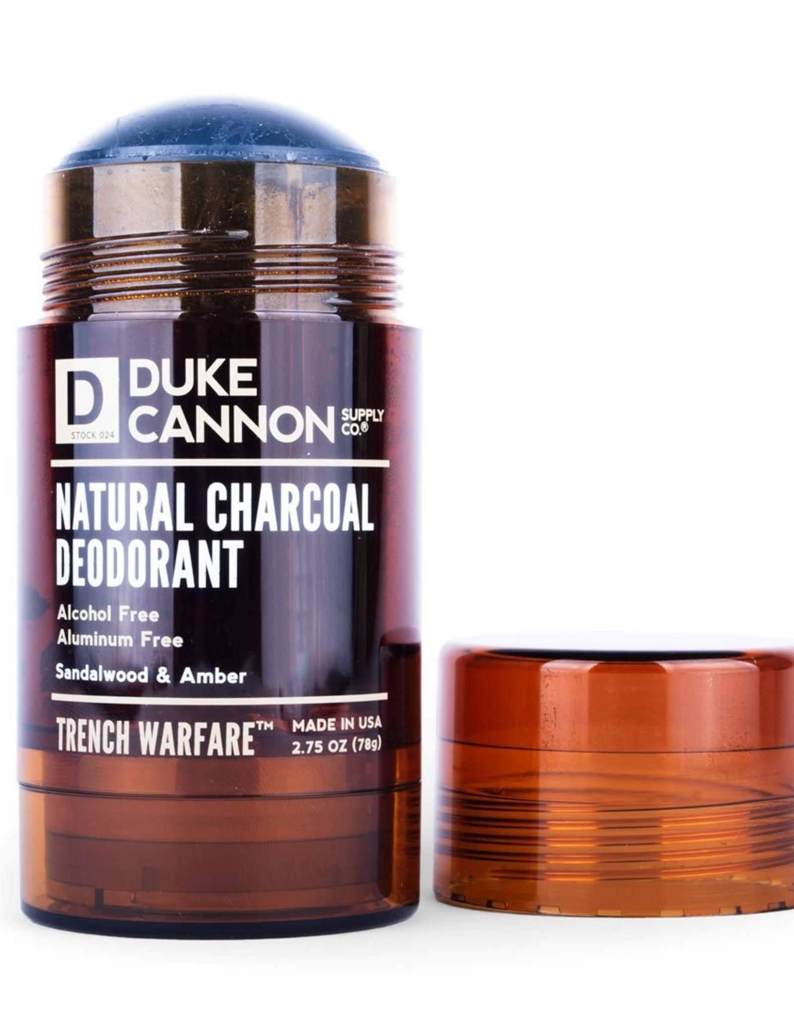 Duke Cannon  Sandalwood & Amber Charcoal Deodorant