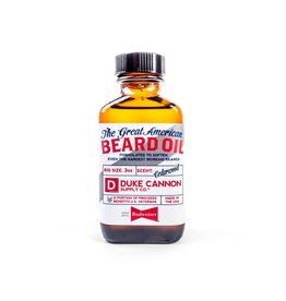 Duke Cannon Great American Budweiser Beard Oil