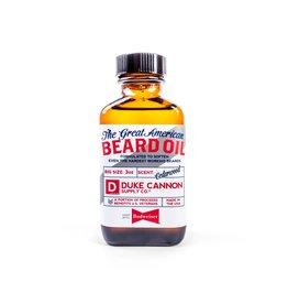 Duke Cannon Great American Budweiser Beard Oil