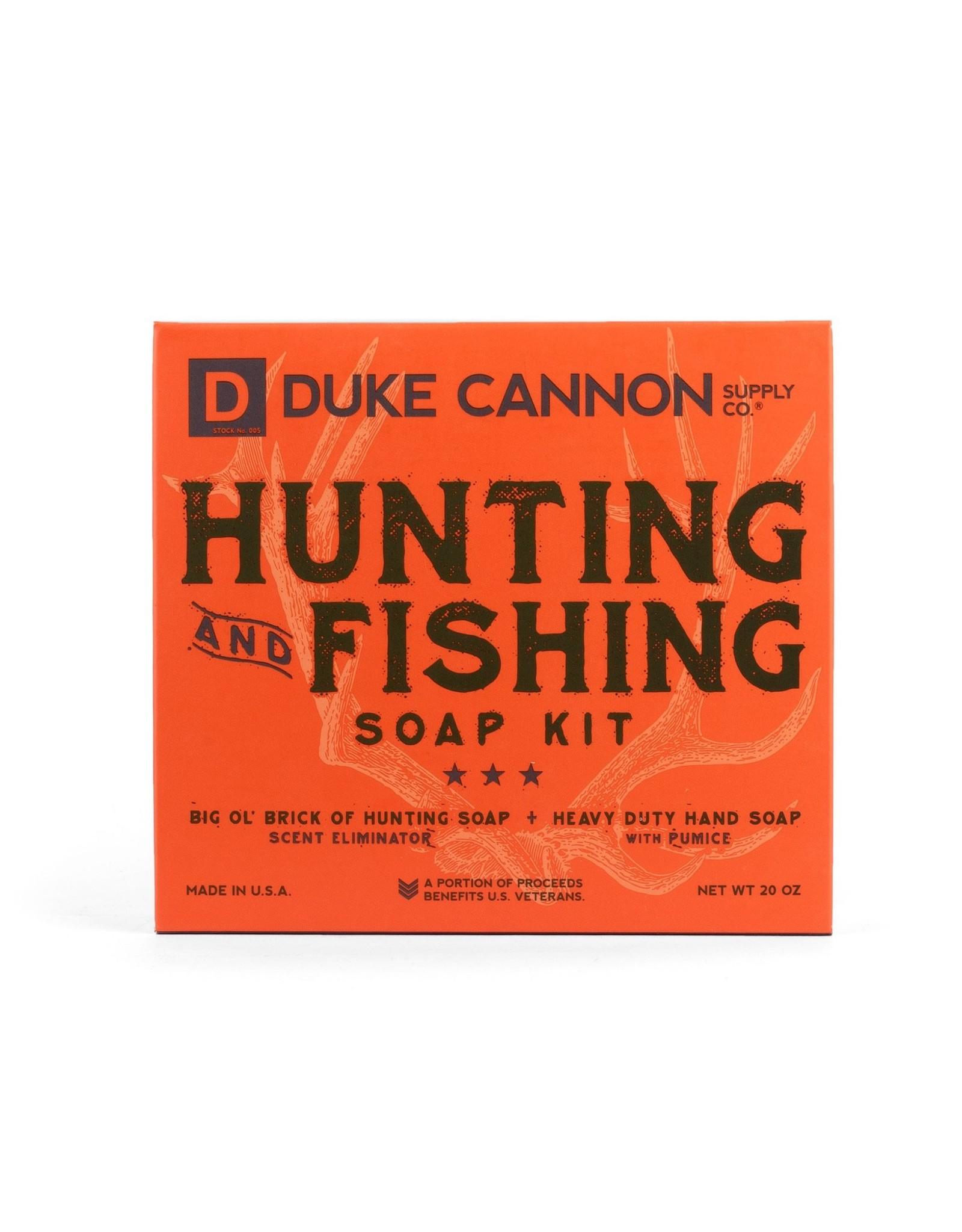 Duke Cannon Hunting & Fishing Gift Set