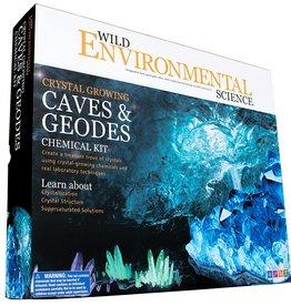 Crystal Growing Caves & Geodes