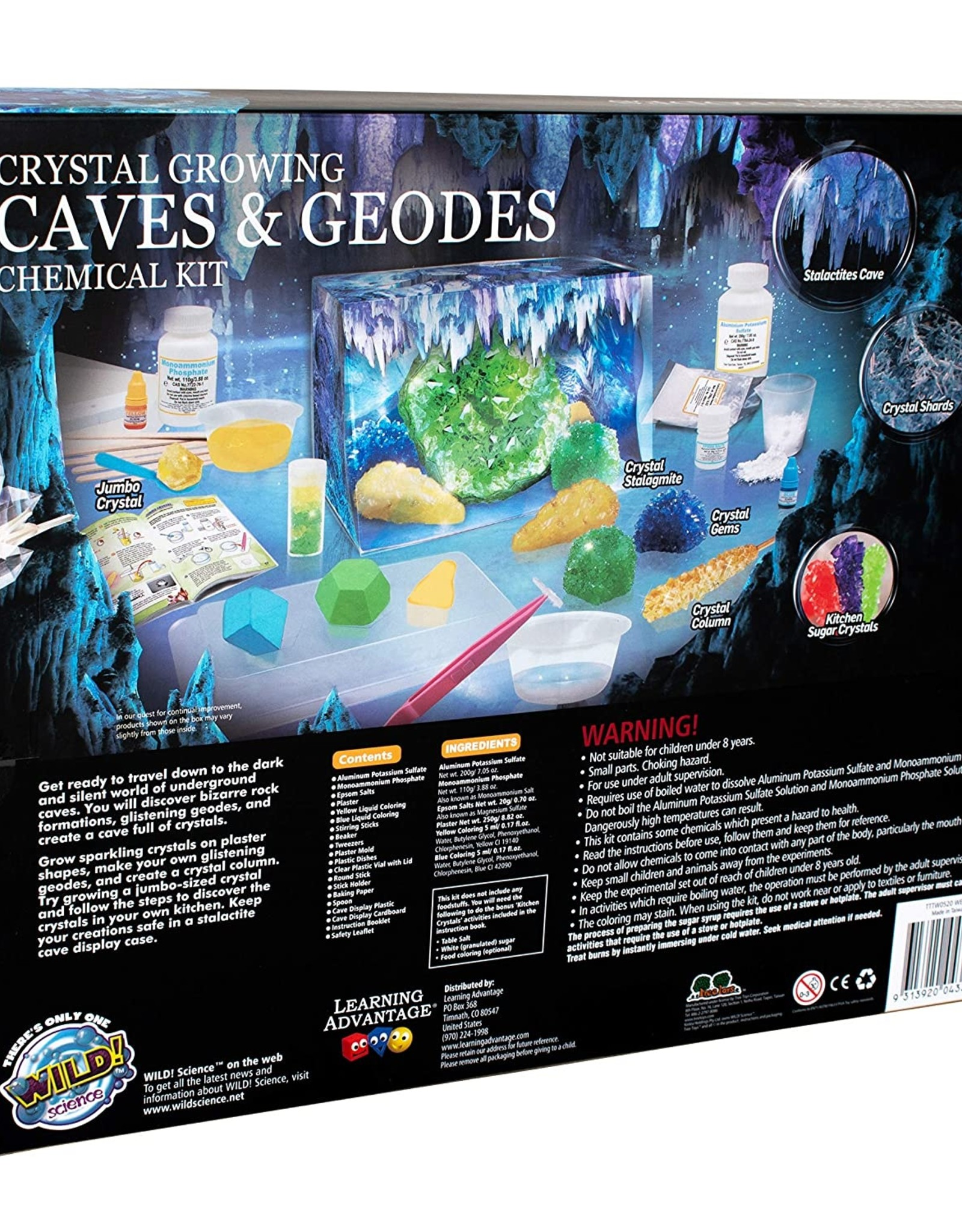 Crystal Growing Caves & Geodes/WES95XL