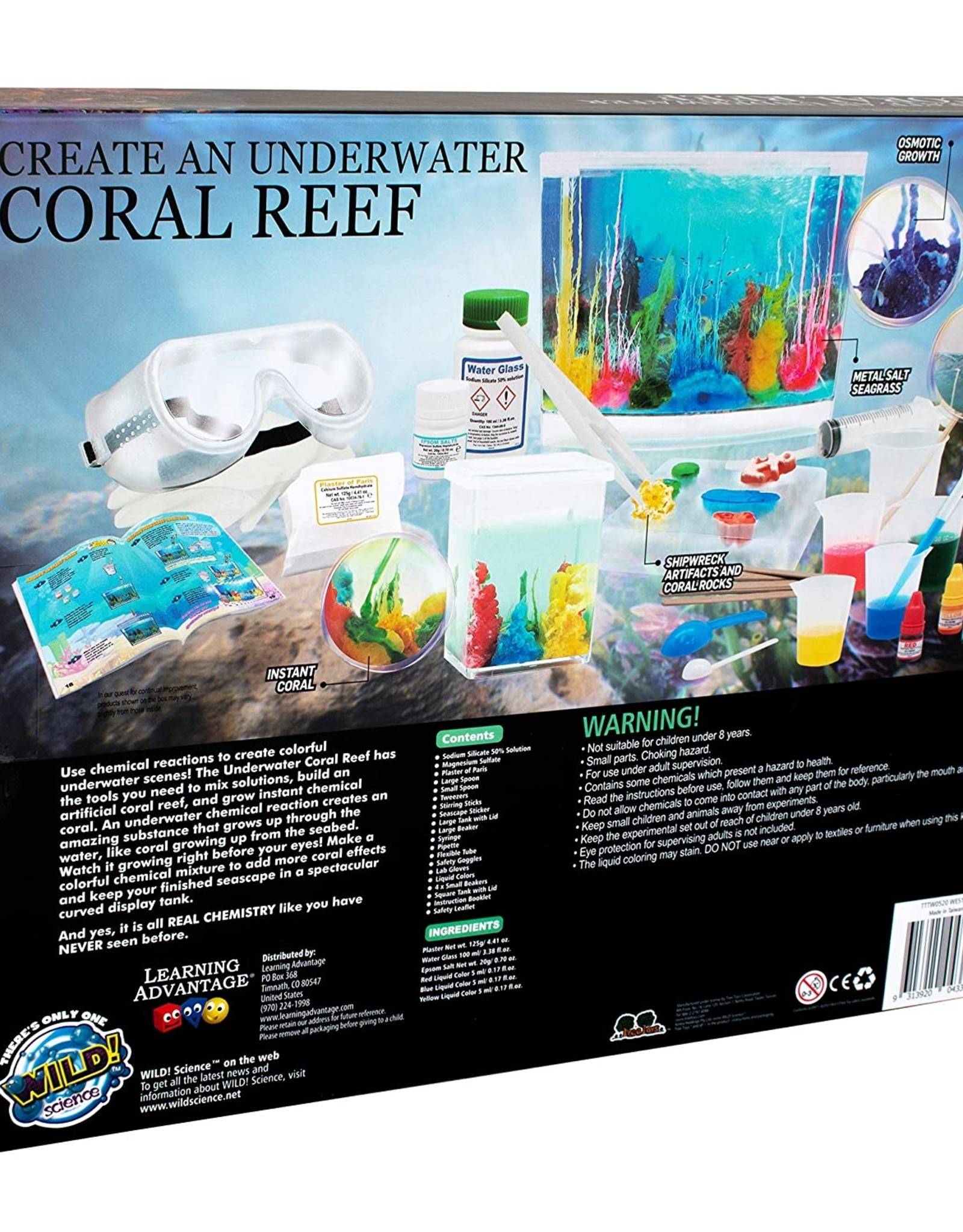Create Underwater Coral Reef/WES17XL
