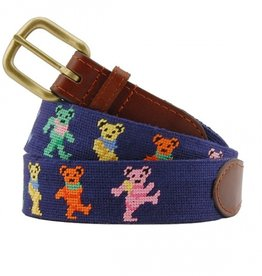 Smathers and Branson Dancing Bears Needlepoint Belt