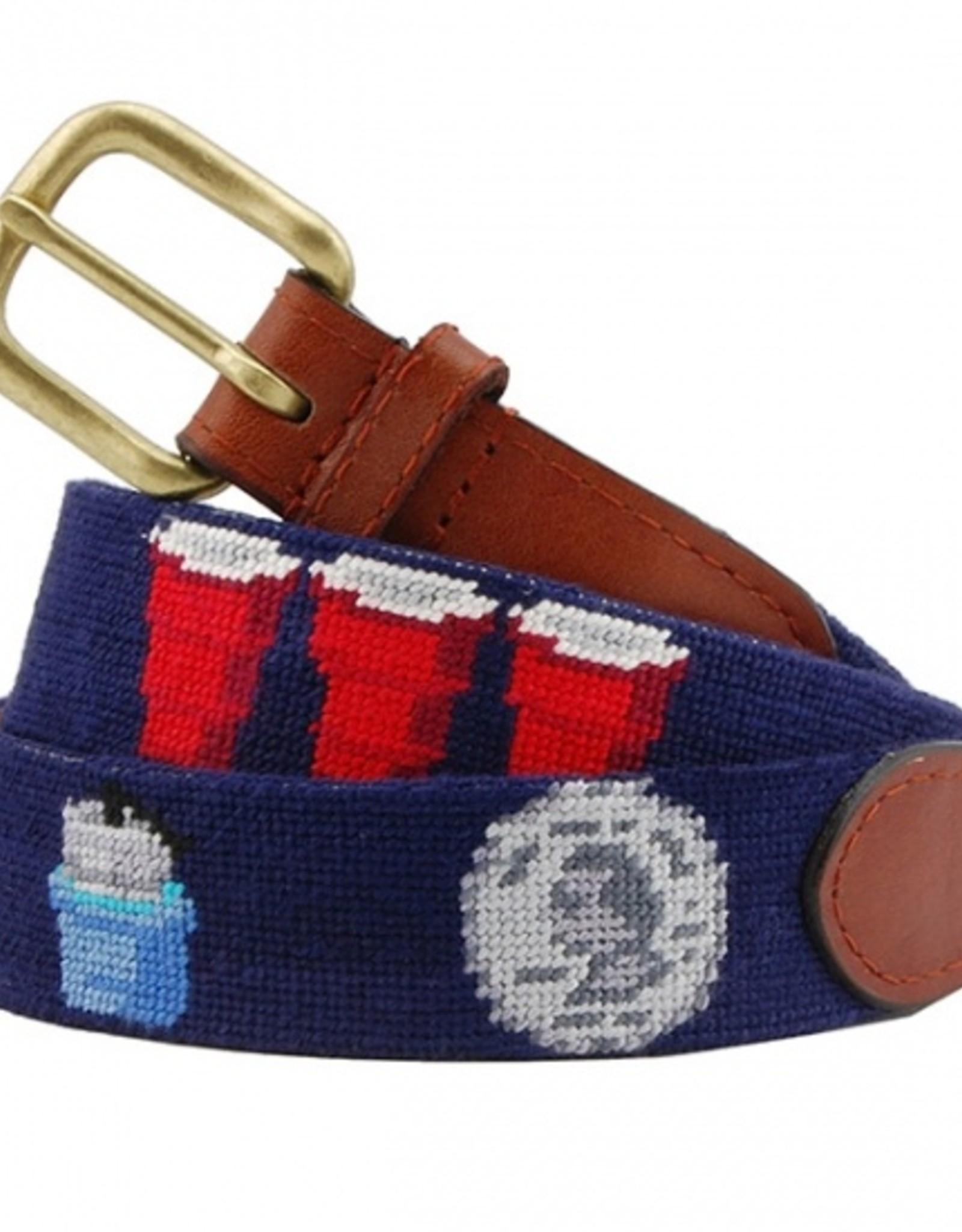 """Smathers and Branson  """"College"""" Belt - Navy"""