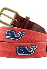 Smathers and Branson  Vineyard Vines Classic Whale Needlepoint Belt