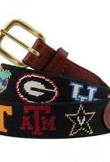 Smathers and Branson  SEC Needlepoint Collegiate Belt