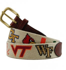 Smathers and Branson Collegiate Needlepoint Belt - ACC