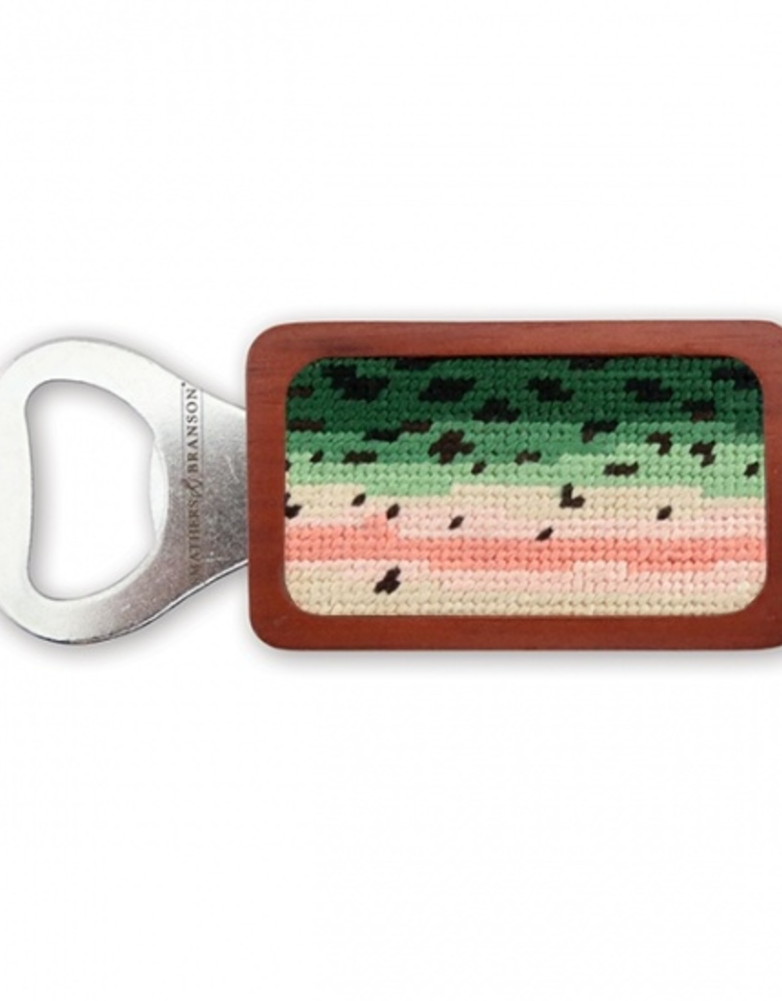 Smathers and Branson  Rainbow Trout Skin Bottle Opener