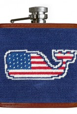 Smathers and Branson Vineyard Vines American Whale Flask
