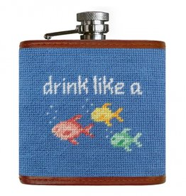 Smathers and Branson Drink Like a Fish Flask