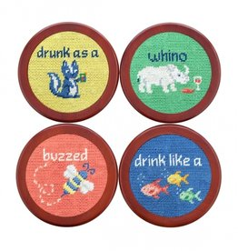 Smathers and Branson Cocktail Critters Coasters