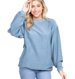Southern Shirt Corduroy Sweatshirt/2C029