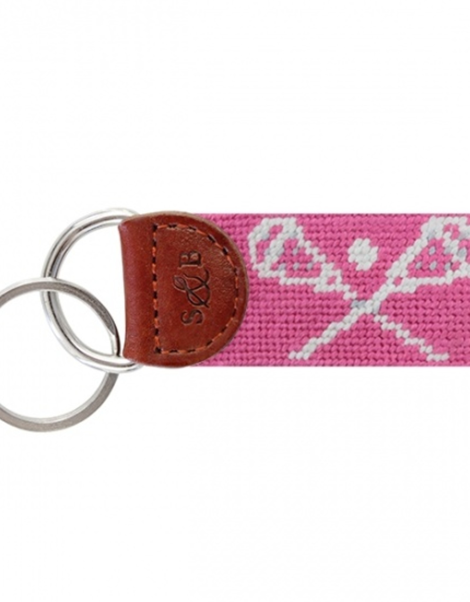 Smathers and Branson Crossed LAX Sticks Key Fob