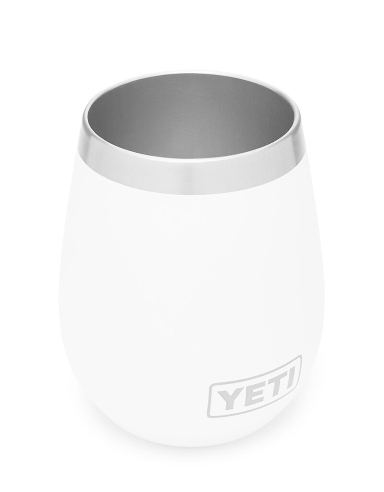 YETI Coolers Rambler 10 oz Wine 2 Pack White