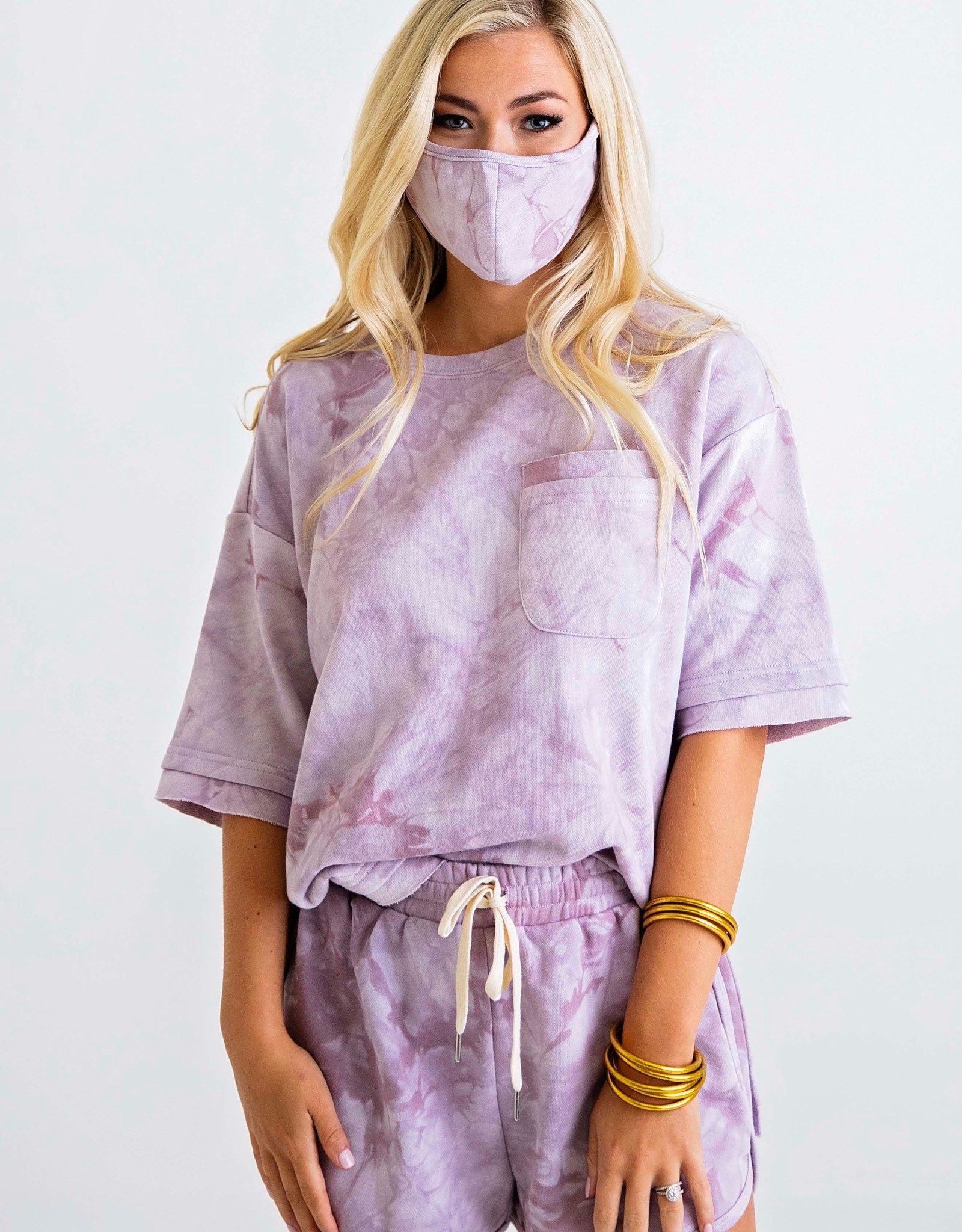 Karlie Tie Dye Terry Pocket Set w/Mask