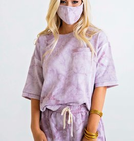 Karlie Tie Dye Terry Pocket Set w/Mask