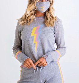 Karlie Lightning Sweater Set w/Mask