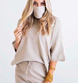 Karlie Heart Sweater Set w/Mask