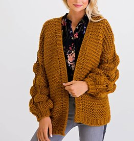 Karlie Yarn Novelty Cardigan Sweater